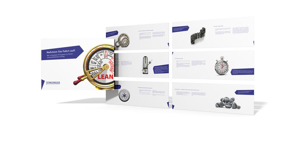 Businessbroschüre für Junginger Lean