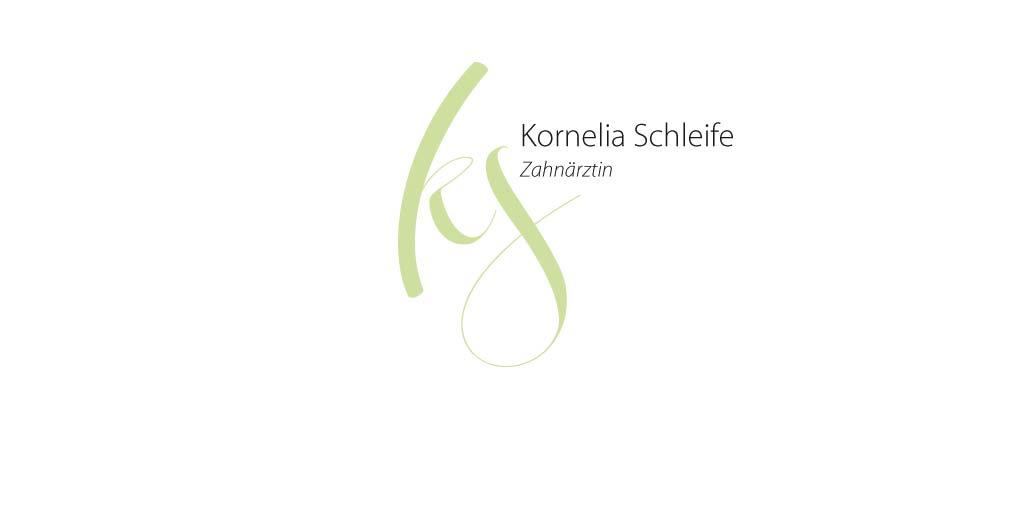 Logo für die Berliner Zahnärztin Kornelia Schleife