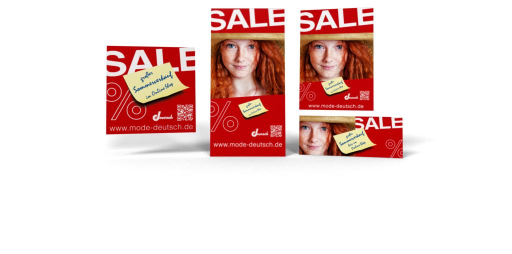 Summer Sale-Kampagne für HS Partnershops