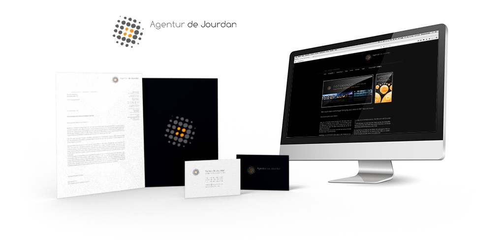 Corporate Design der Agentur de Jourdan